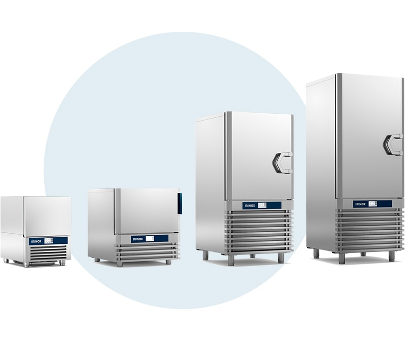 Easy-Fresh Next units from Irinox Blast Chillers and shock freezers.